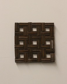 Wood Trivet-Deep Brown